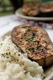 la cuisine d et aubergines à la sauce soja et au miso cuites dans le micro vap
