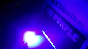 ledbulbz uv purple 6 smt led bulb review black light leds