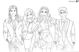 Descendants Wicked World Coloring Pages