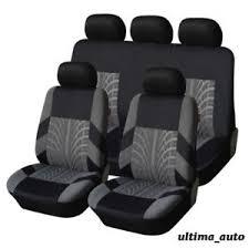 tissu pour siege auto set complet tissu gris housses de siège auto pour citroen c2 c3 c4