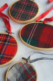 COM Quick And Easy Christmas Ornaments Plaid ChristmasChristmas Tree