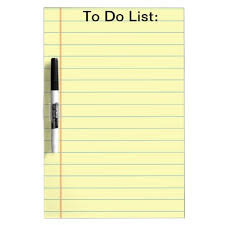 Yellow Lined Paper To Do List Clipart The Cliparts