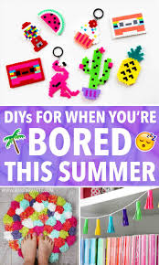 Crafts Youtuberhyoutubecom Easy Ideas For Youure This Summer Karen Kavett Rhcouk Diy Projects To Do