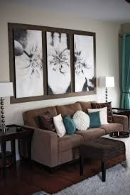 Brown Couch Living Room Ideas by Custom Doormat Large Scale Art Scale Art And Scale
