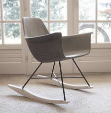 Concrete Rocking Chair Cheap Modern Rocking Chair Find Joseph Allen Wayfair Concrete Rocking Chair Lichterloh Baby Czech Republic 1950s American Gf058wy Sold Reviews Joss Main Allmodern Aries Milo Baughman Style Chrome Mid Century