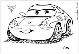 Cars The Movie Coloring Pages Disney For Kid