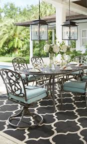 Threshold Patio Furniture Covers by Best 25 Cast Aluminum Patio Furniture Ideas On Pinterest