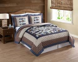 Rustic Bedding Quilts Every Avid Angler Will Love This Fishing Themed Quilt Set Cedar Creek Swimming