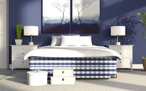 herunterladen hintergrundbild stilvolle schlafzimmer blau