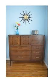 vintage mid century broyhill saga bedroom set full bed with