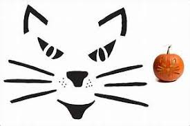 Cheshire Cat Pumpkin Stencil Printable by Cat Face Pumpkin Carving Printable Patterns Patterns Kid