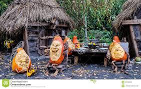 Ray Villafane Pumpkins by The Pumpkin Festival Stuttgart Stock Photo Image 62708849