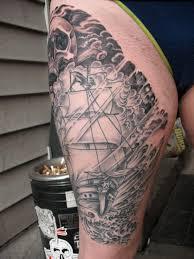 Fat Rams Pumpkin Tattoo by Alan Thompson Trader Bob U0027s Tattoo Shop