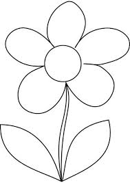 Amazing Printable Coloring Pages Of Flowers Daisy Flower Kids For
