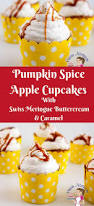 Types Of Pumpkins For Baking by Pumpkin Spiced Apple Cupcakes With Caramel Veena Azmanov