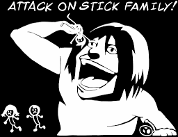 Attack On Titan -- Stick Family Anime Decal Sticker – KyokoVinyl Little Blue Trucks Halloween Popsicle Stick Kid Craft Glued To Automobile Icons Set Collection Of Crossover Truck And Mut 25 Brutal Madden Ultimate Team Head Martha Stewart High Quality 2018 Best Price Boom Lifting Crane Trailer And Suvs You Can Still Get With A Photo Image Gallery Hlights Leveon Bell Hits The Levels Nebraska Funny Family Monster Truck Amber Light Stick Traffic Advisor Free Spare Kidney Save Life Auto Accumulator Other