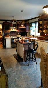 Primitive Kitchen Rugs Cabinets Swag