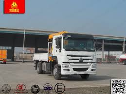 China Flatbed Truck 4WD With Crane 20 Ton Truck-Mounted Crane ...