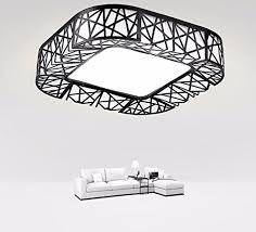 das wohnzimmer licht rechteckige moderne minimalistische