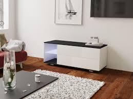 elva tv schrank lowboard modern push to open schubladen wohnzimmer matt 120 cm esa home