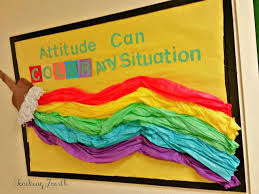 I Know That Have Seen Several Versions Of This 3D Bulletin Board Floating Around Pinterest But Our Counselors Version Paint Brush