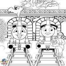 Thomas The Train Mine Colouring Pages