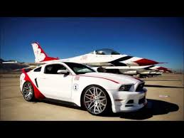 2014 Mustang GT USA Air Force Thunderbird s Tribute special