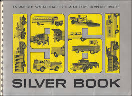 100 Dealers Truck Equipment 1961 Chevrolet Silver Book Special Dealer Album