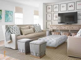 Coastal Living Showhouse Beach Style Family Room Miami by