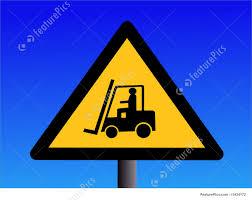 100 Truck Sign Forklift Illustration