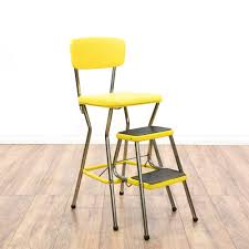 Cosco Retro Chair With Step Stool Yellow by Mid Century Modern Yellow