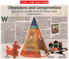 100 Daily Page Isthmus Magazine Tepee Tent Included In Holiday Gift