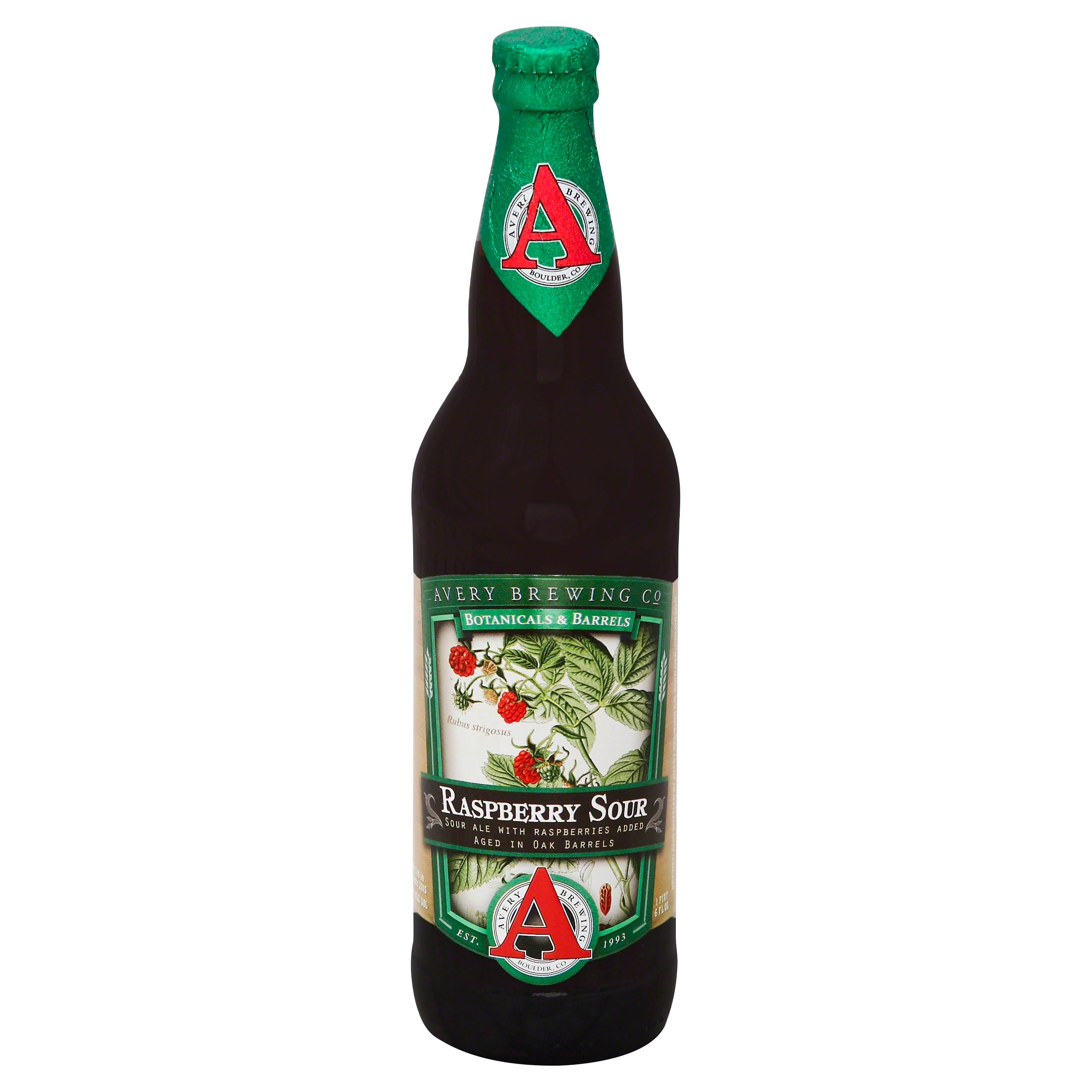 Avery Brewing Ale, Raspberry Sour - 6 fl oz