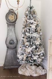 45 Pre Lit Christmas Tree by Two Flocked Christmas Trees A Review So Much Better With Age