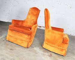 Vintage Hollywood Regency Orange Velvet High Back Pair Of Chairs By ... Merax Orange High Back Gaming Chair With Lumbar Support And Headrest Cougar Armor S Luxury Breathable Premium Pvc Leather Bodyembracing Design Mid Century Modern Highback Lounge Revive Modern In Highback Swivel Black With Racing Style Ergonomic Office Desk By Morndepo Xl Executive Ribbed Pu Computer Gothic Inspired Velvet Throne Task Global Ding Chairs Upholstered Angelic Vini Furntech Gromalla Mesh Akracing Nitro Robus High Back From Stylex Architonic Video Bucket Seat Footrest Padding