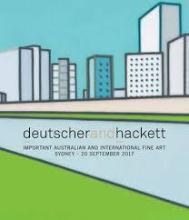Important Australian And International Fine Art By Deutscher