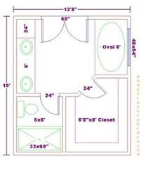 Small Master Bathroom Floor Plan by Water Closet Dimensions In Inches Free Bathroom Plan Design