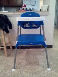Evenflo High Chairs Walmart by Evenflo Mini Meal 3 In 1 High Chair Dottie Royal Walmart Com