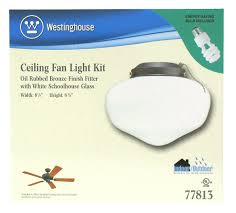 Westinghouse Ceiling Fan Light Kit by Westinghouse Ceiling Fan Glass Shades Clanagnew Decoration