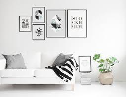 inspiration tavelvägg einrichten und wohnen wohnzimmer