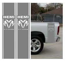 Amazon.com: Silver Hemi 5.7 Liter RAM Bed Stripe Decal Kit, Dodge ... 2019 Ram 1500 Big Horn Rocky Top Chrysler Jeep Dodge Kodak Tn 092018 Rebel Ram Hemi Hood Solid Center Winged Hood Limededition Orange And Black 2015 Trucks Coming In Everything You Need To Know About Rams New Fullsize 2500 American Racing Headers 2009 Slt 4x4 Crew Cab Road Test Review Car Driver Announces Pricing For The Pick Up Truck Roadshow Rumble Rear Bed Truck Stripes Vinyl Graphic Questions Have A W 57 L Hemi Mpg 2008 News Information Nceptcarzcom 2018 Lithia Anchorage Ak Allnew More Space Storage Technology
