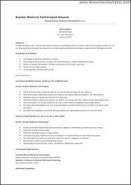 Medical Laboratory Technician Resume Sample Technologist Job Description From Lab Template Premium Resumes Samples