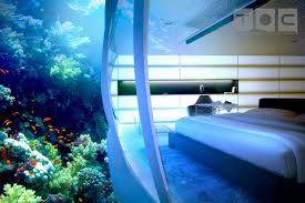 100 Water Hotel Dubai The Discus Underwater Exterior Curved Clear Glass