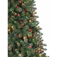 Fraser Fir Christmas Trees Artificial by Holiday Time Pre Lit 7 U0027 Duncan Fir Artificial Christmas Tree