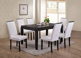 Astaire Kitchen Dining Set, Cappuccino Wood, 59