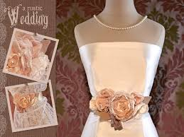 Another Top Trend We Came Across In Our Research For The Rustic Wedding Series With Fabric Was Bridal Gown Sash Found These Talked About