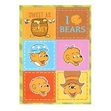 Berenstain Bears Halloween by The Berenstain Bears Sticker Sheets 4 Birthdayexpress Com