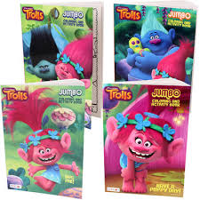 Wholesale Dreamworks Trolls Coloring Book