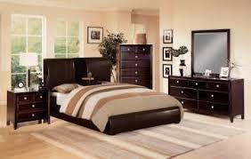 Mark Furniture Flynn Claret Upholstered Bedroom Set in Rich Brown