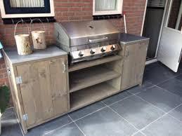 barbecue cupboard new lumber kochen im freien bauen mit